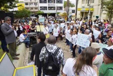 Ato em Cuiabá
