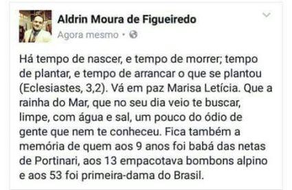 Fonte: Aldrin Figeuiredo (Facebook)